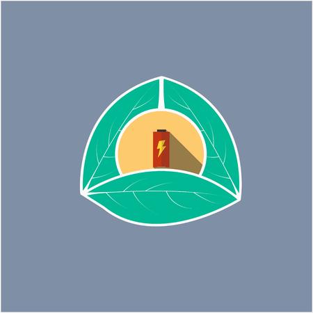 battery logo 3d