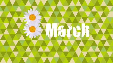 8march women's day flower card