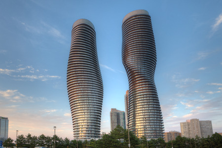 absolute: The Absolute World, futuristic condominiums found in Mississauga, Canada