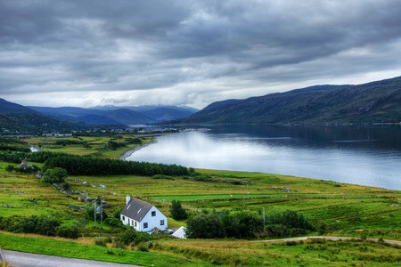 View of Ullapool in Scotland