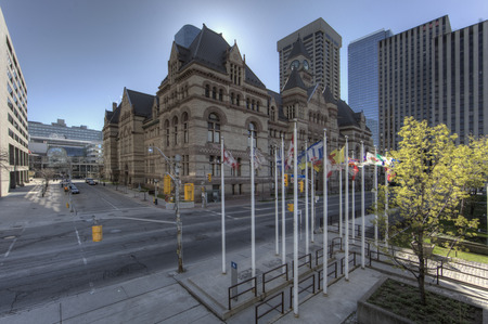 Court House, Toronto, the Old City Hall