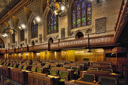 Interior of the Canada Commons of Parliament, Ottawa Editöryel