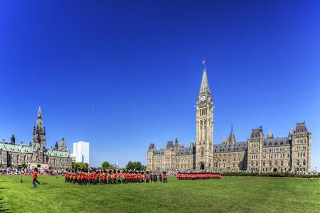 ottawa: The ceremonial Changing of the Guard, Ottawa, Canada