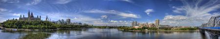 Panoramic view of Ottawa, Canada