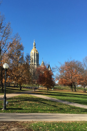 hartford: The Capital Building in Hartford, Connecticut