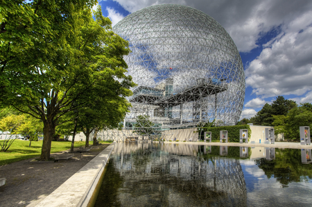 biosphere: A view of the Biosphere in Montreal