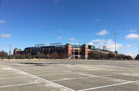 ballpark: Globe Life Park in Arlington, home to the Texas Rangers Editorial