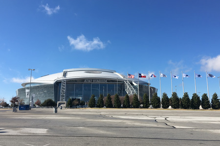 nfl: ATT Stadium, home to the Dallas Cowboys of the NFL