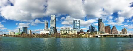 A Panorama of the Austin, Texas, skyline