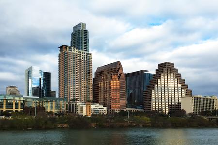Austin, Texas, skyline at twilight