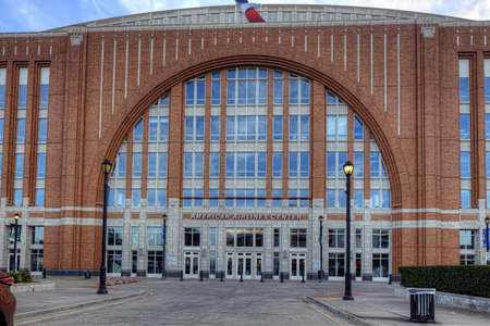 american airlines: The American Airlines Center in Dallas, Texas