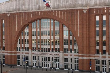 De American Airlines Center in Dallas, Texas Redactioneel