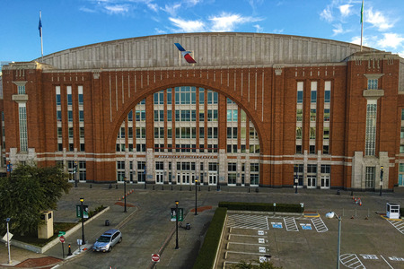 american airlines: American Airlines Center in Dallas Editorial