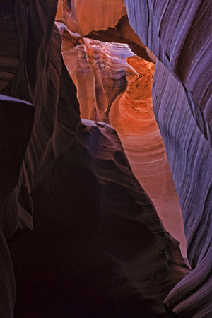 lower antelope: The beauty of Antelope Canyon, in Page, Arizona