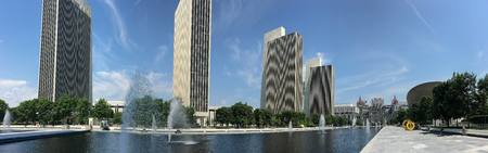legislature: A Panorama of State legislature building in Albany, New York