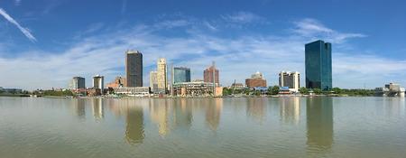 A Panorama of the Toledo skyline