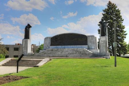 A Memorial in Brantford, Ontario, Canada for Alexander Graham Bell