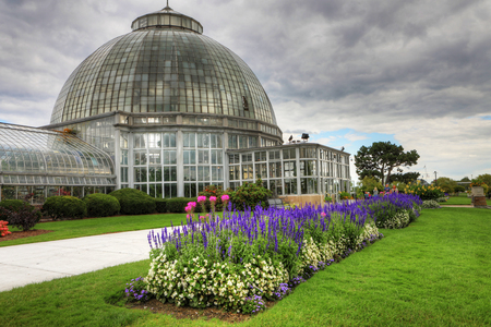 The Anna Scripps Whitcomb Conservatory on Belle Isle, Detroit Editorial