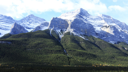 A Mountain view in Banff National Park, Alberta
