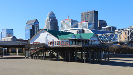 A View of Louisville, Kentucky near the Ohio River