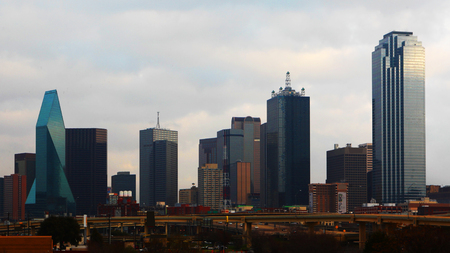 The skyline of Dallas during day