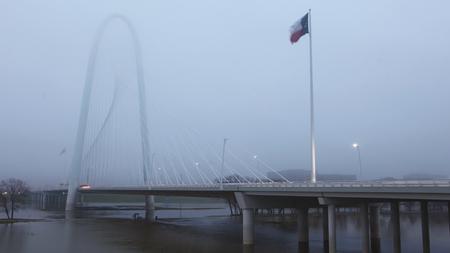 The Bridge into Dallas during day