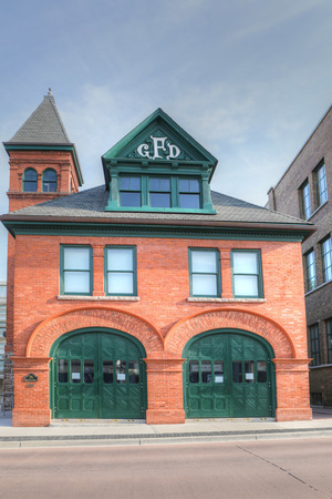 The Old Galt Firehall in Cambridge, Canada