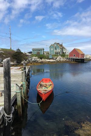 A Vertical of Peggy's Cove, Nova Scotia, Canada