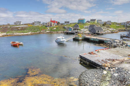 A View of Peggys Cove, Canada