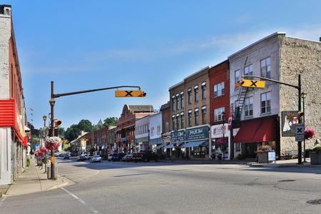 A Street scene from Paris, Ontario, Canada