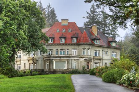 The Pittock Mansion in Portland, Oregon