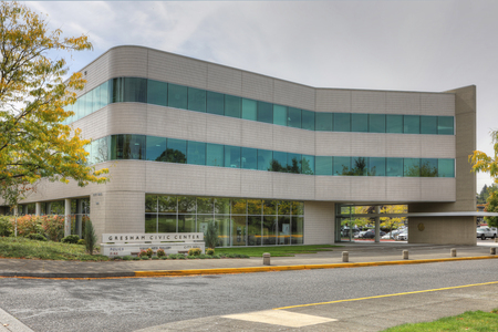 The City Hall in Gresham, Oregon