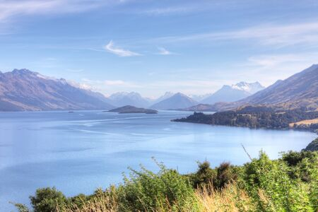 A Beautiful mountain and sea view New Zealand