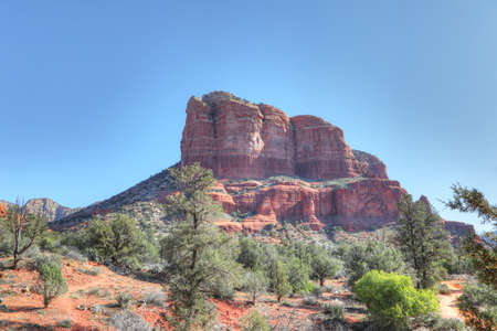 A View from Bell Rock trail in Sedona, Arizona, United States