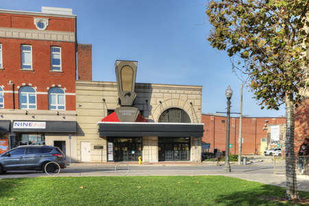 View of The Sanderson Center theater in Brantford, Ontario, Canada