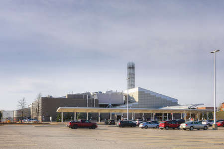 An Elements Casino view in Brantford, Ontario, Canada Editorial
