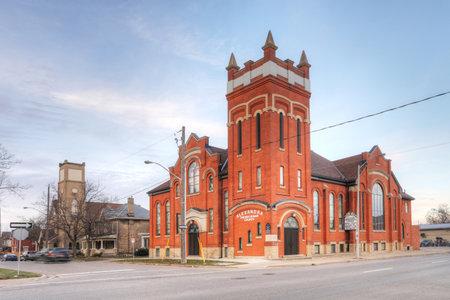 The Alexandra Presbyterian Church in Brantford, Ontario, Canada Editorial