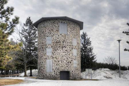 The Moulin de la commune de Trois-Rivi