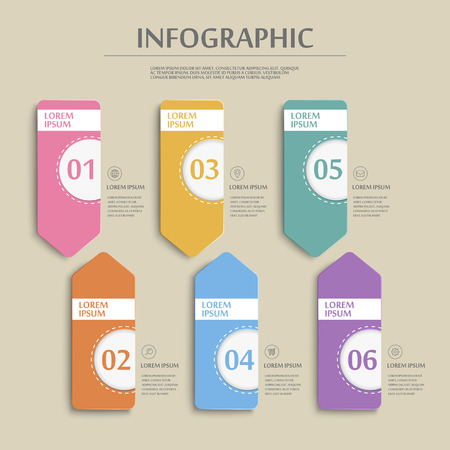 the simplicity: simplicity infographic template design with banner options