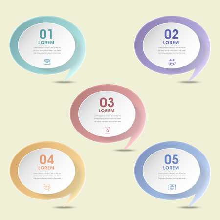 the simplicity: simplicity infographic design with speech bubble elements