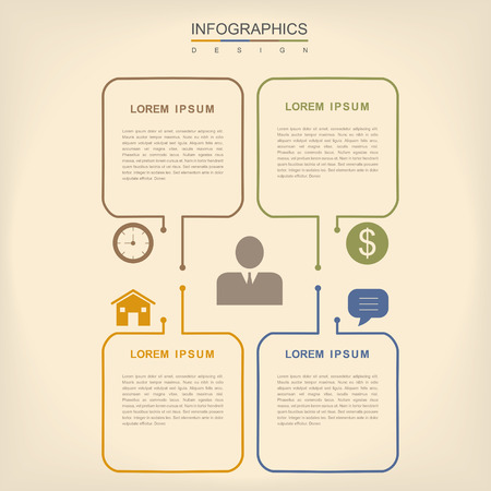 the simplicity: simplicity infographic design with thin line elements