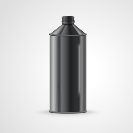drink can: metal drink can isolated on white background. 3D illustration. Illustration