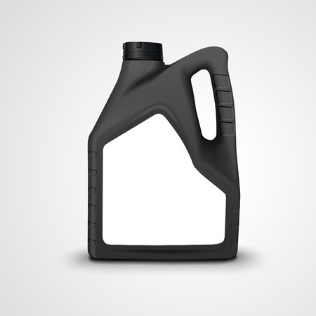 machine oil: machine oil canister isolated on white background. 3D illustration. Illustration