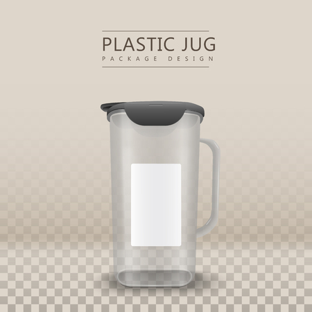 cleansing: water container with blank label isolated on transparent background. 3D illustration
