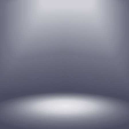 slick: spotlight with gray abstract  background scene