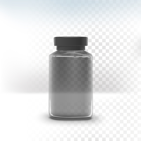 empty jar: empty jar with label isolated on transparent background