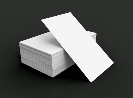 Stack of business card template blank unfilled card for edited stack of business card template blank unfilled card for edited isolated on black background photo flashek Gallery