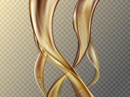 soft liquid foundation texture on transparent background, 3d illustration