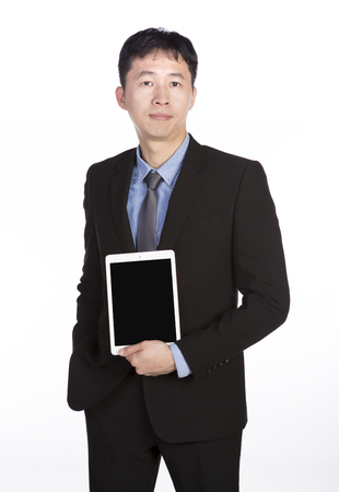 Asian men in suits