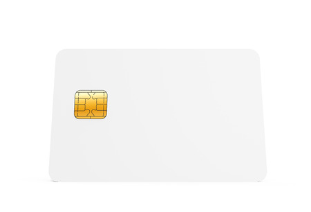 Blank Credit Card Template Empty Chip Card For Design In 3d Stock Photo Picture And Royalty Free Image Image 73372748